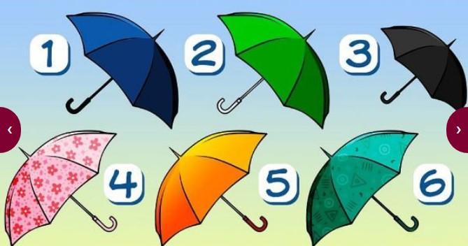 Лесен и много приятен психологически тест: Избери чадър и виж какво ще разкрие той за теб!