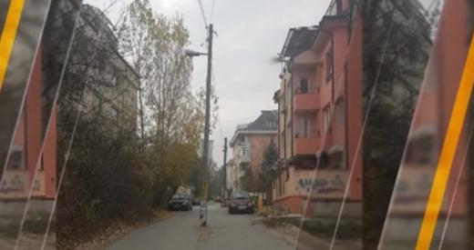 """""""Гениална"""" инженерна мисъл в богаташки квартал на София ще ви остави без думи (СНИМКА)"""