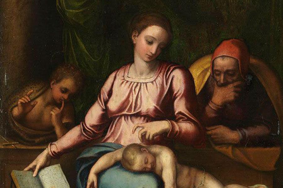 микеланджело църква белгия светото семейство