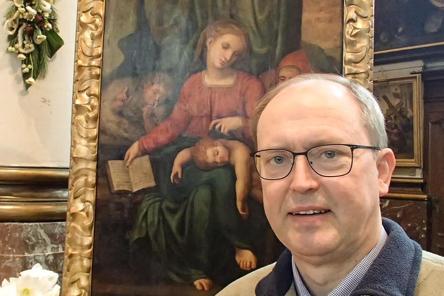 Откраднаха картина на Микеланджело от църква