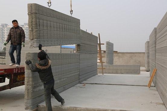 Китай пуска в продажба 3D принтирани къщи