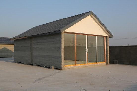 Китай 3D къщи