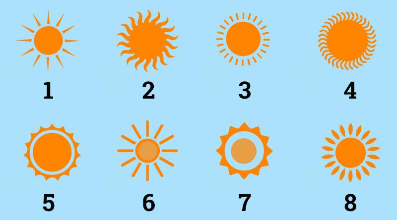 Изберете си слънце и вижте бъдещето си