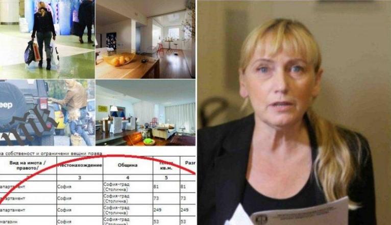 Елена Йончева имоти