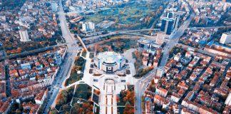 тока в центъра на София