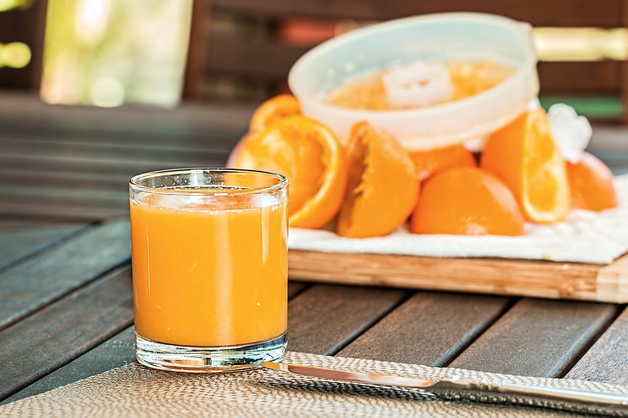 сокът от портокал