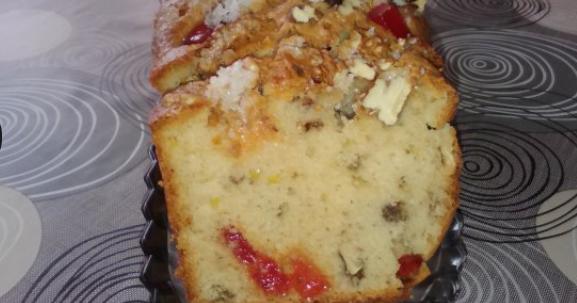локум с орехи козуначен кекс