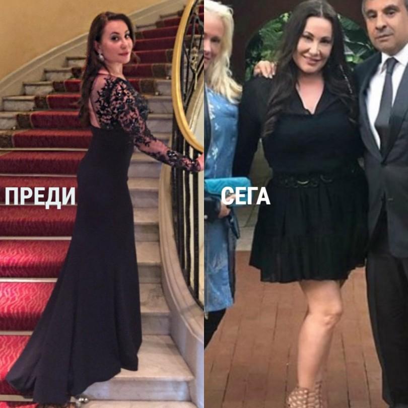 Дарина Павлова качи 20 кг след тежка операция (Снимка)
