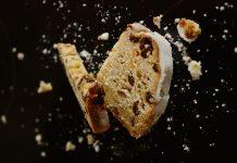 кекскекс с конфитюр и орехи