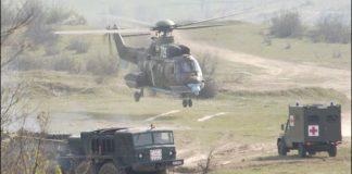 учение НАТО парашутист