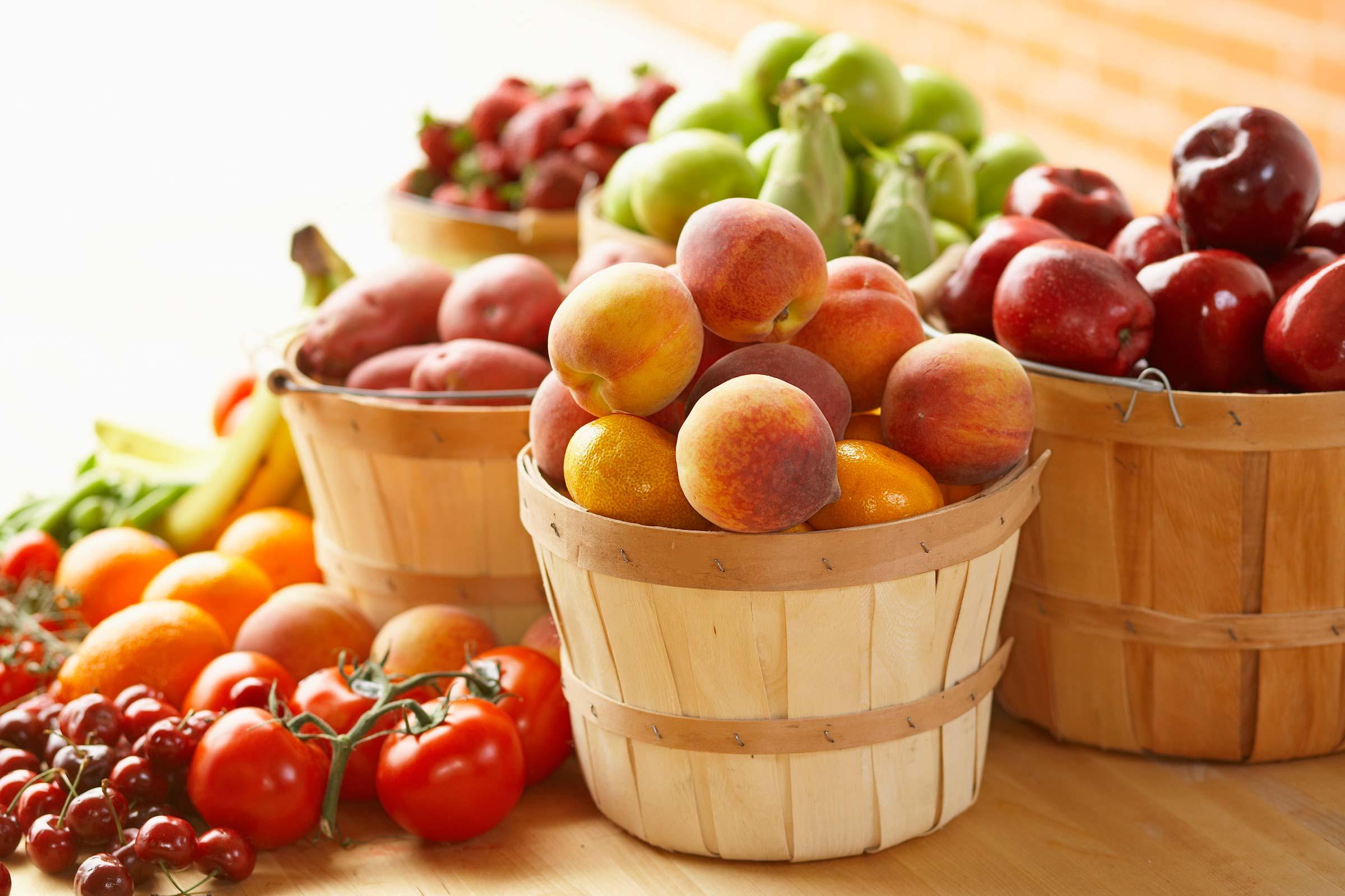 сезонни плодове и зеленчуци