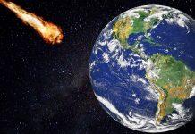 сблъсък със Земята