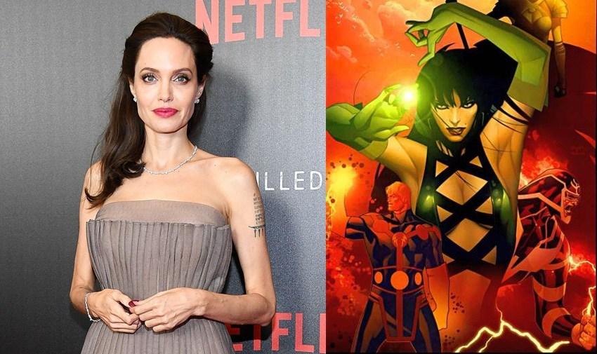 Анджелина Джоли като бог в нов филм на Marvel