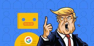 тръмп google