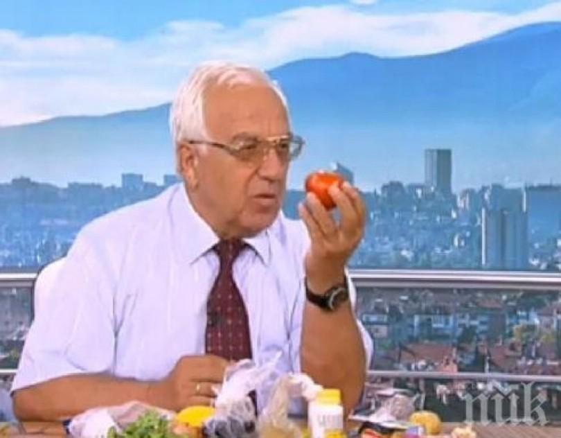 Професор Мермерски: Пловдивският домат пази от рак!