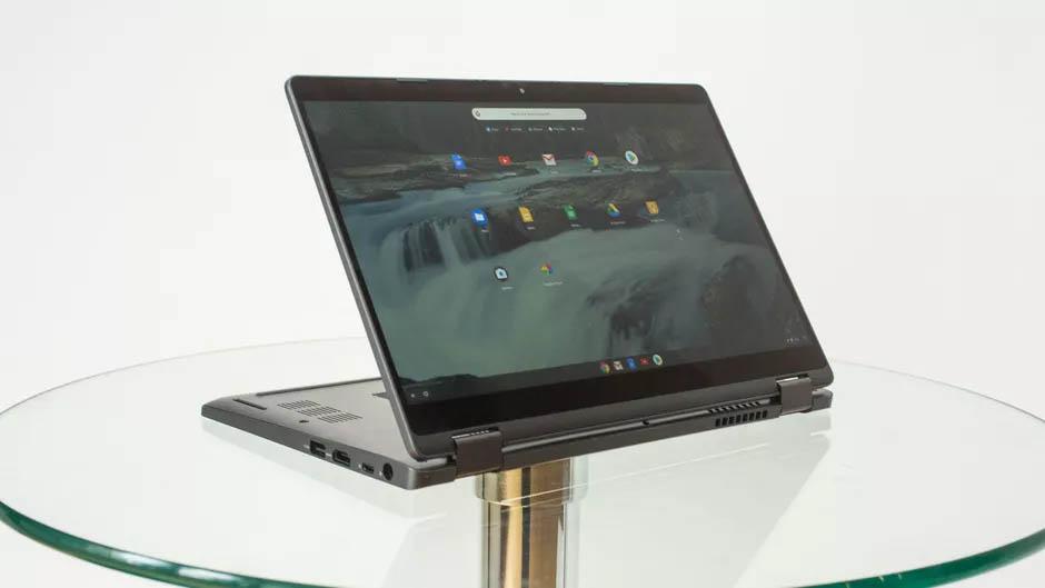 Dell демонстрира първия истински Chromebook Enterprise лаптоп 2 в 1
