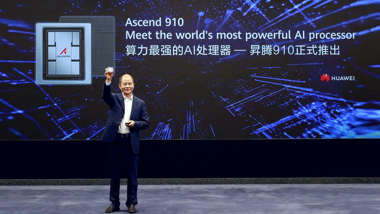 Huawei представи AI процесора Ascend 910 с производителност до 512 TFLOPS