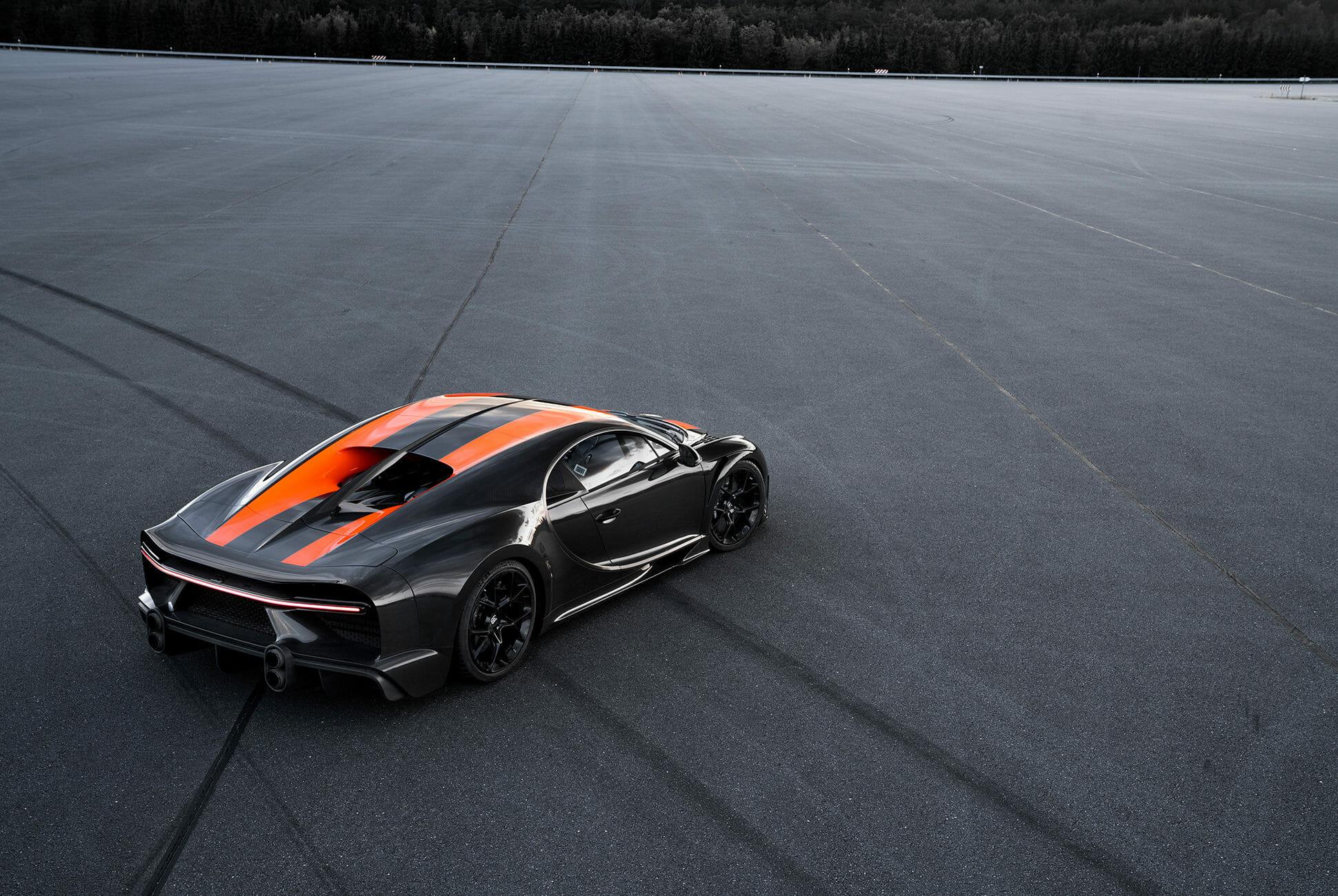 Нов рекорд за скорост от Bugatti Chiron (Видео)