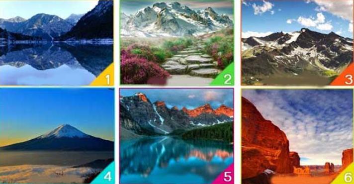 Изберете планина и открийте тайните на подсъзнанието си (Снимка)