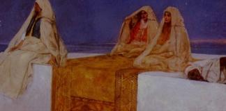 жената на арабския халиф