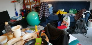 разхвърляният дом