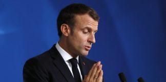 Франция извънредно положение президент Еманюел Макрон
