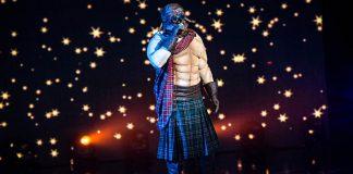 Маскираният певец Шотландеца