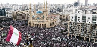 протести в Ливан