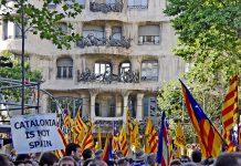 протести в Барселона
