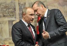 турция русия сирия Владимир Путин и Реджеп Ердоган