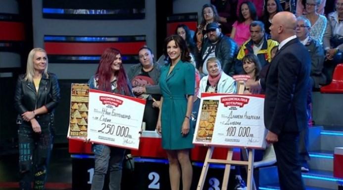 Жана Бергендорф взе чека за 250 бона и обяви какво ще прави с голямата печалба (СНИМКА)