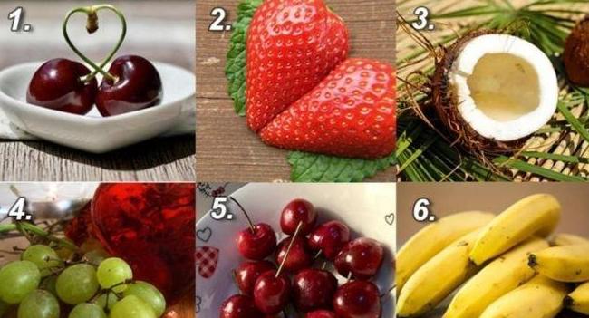 Изберете плод и разберете какви любовници сте (Снимка)