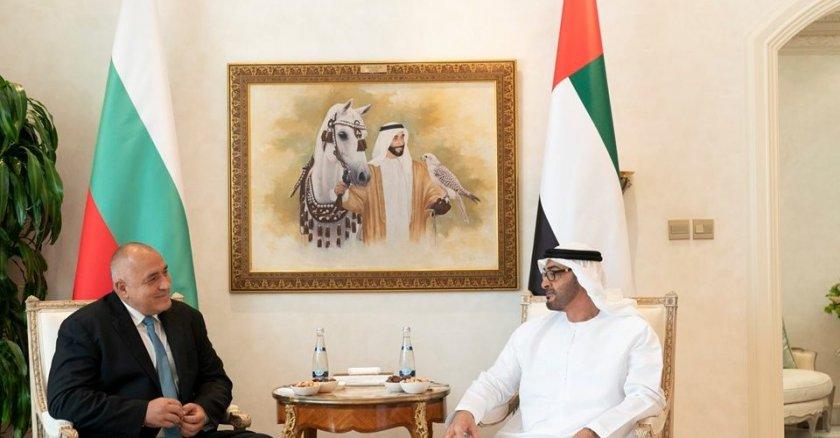 Бойко Борисов се срещна с престолонаследника на Абу Даби