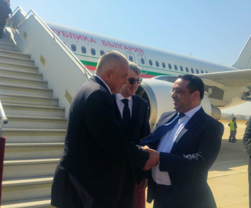 Бойко Борисов кацна в Йордания (СНИМКИ)