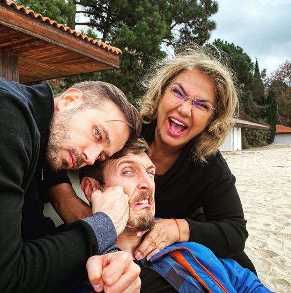 """Алек Алексиев """"заби"""" кроше на колегата си от """"Откраднат живот"""" (СНИМКА)"""