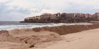 кой разкопа плажа на Созопол