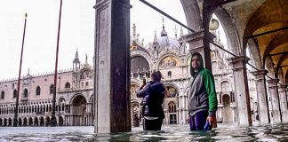 наводнението венеция