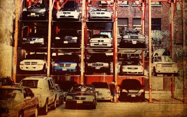 Пловдив вертикално паркиране