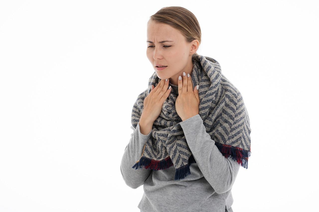 болката в гърлото