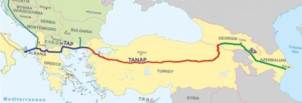 Ердоган откри газовата връзка ТАНАП - Европа