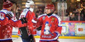 путин хокей