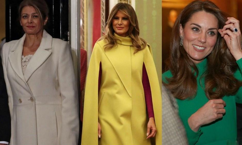 Дами канят: Стилът на Десислава Радева, Мелания Тръмп и Кейт Мидълтън в Лондон