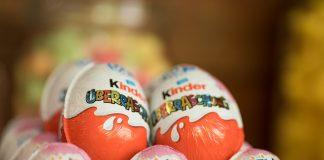 яйцата Kinder surprise