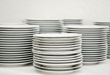 миене на чинии