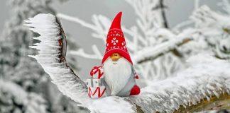 нова година сняг