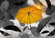 затворения чадър