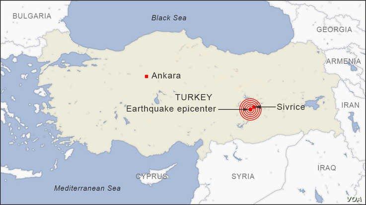 Извънредно: Жертви в Турция след много силно земетресение