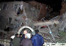 силно земетресение турция