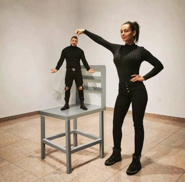 Вижте какво си причиниха Джулия и Кристиан Кирилов (Снимки)