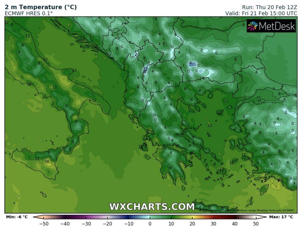 Валежите спират, в неделя температурите тръгват отново нагоре